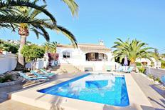 Holiday home 1490986 for 6 persons in Moraira