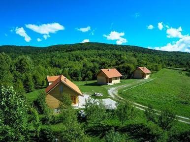 Gemütliches Ferienhaus : Region Plitvitzer Seen für 5 Personen