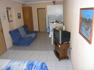 Für 2 Personen: Hübsches Apartment / Ferienwohnung in der Region Krk