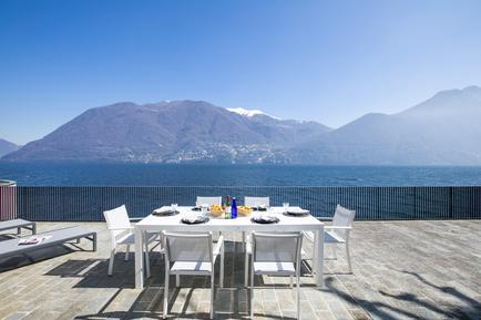 Gemütliches Ferienhaus : Region Comer See für 12 Personen