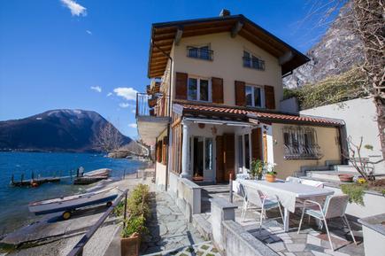 Gemütliches Ferienhaus : Region Luganer See für 8 Personen