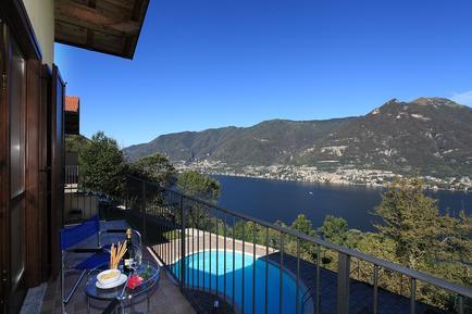 Für 8 Personen: Hübsches Apartment / Ferienwohnung in der Region Comer See