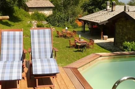 Gemütliches Ferienhaus : Region Oberitalienische Seen für 10 Personen