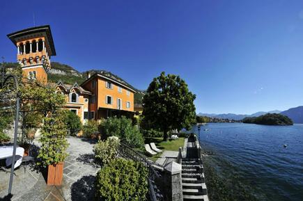 Gemütliches Ferienhaus : Region Comer See für 9 Personen