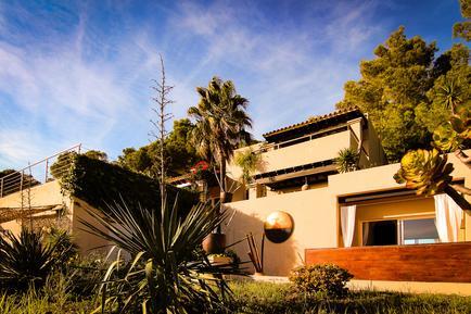 Gemütliches Ferienhaus : Region Ibiza für 10 Personen