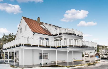 Gemütliches Ferienhaus : Region Rogaland für 16 Personen