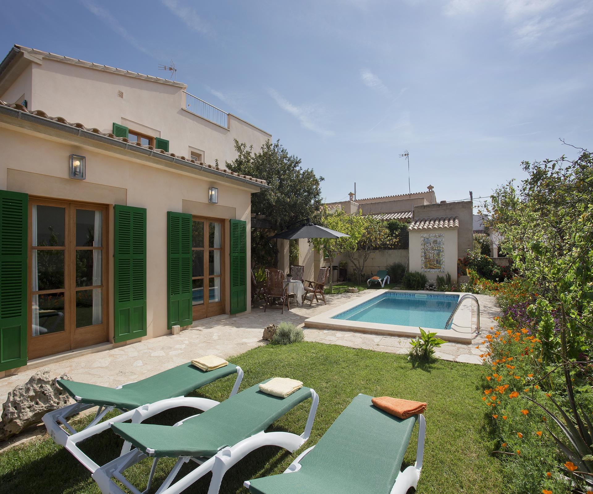 Ferienhaus mit Privatpool für 6 Personen ca 90 m² in Sa Rapita Mallorca Südküste von Mallorca