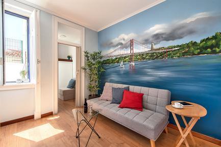 Für 5 Personen: Hübsches Apartment / Ferienwohnung in der Region Costa de Lisboa