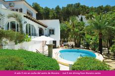 Holiday home 1503058 for 6 persons in Moraira