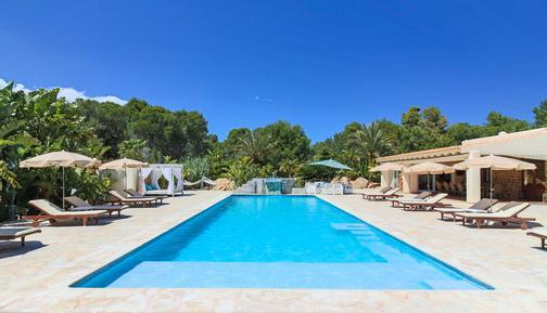 Gemütliches Ferienhaus : Region Ibiza für 15 Personen