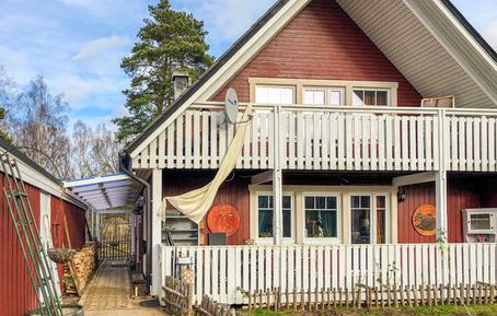 Für 4 Personen: Hübsches Apartment / Ferienwohnung in der Region Lönneberga