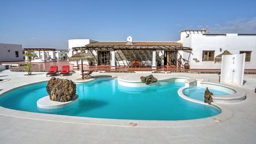 Gemütliches Ferienhaus : Region Fuerteventura für 10 Personen