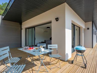 Gemütliches Ferienhaus : Region Mimizan für 4 Personen
