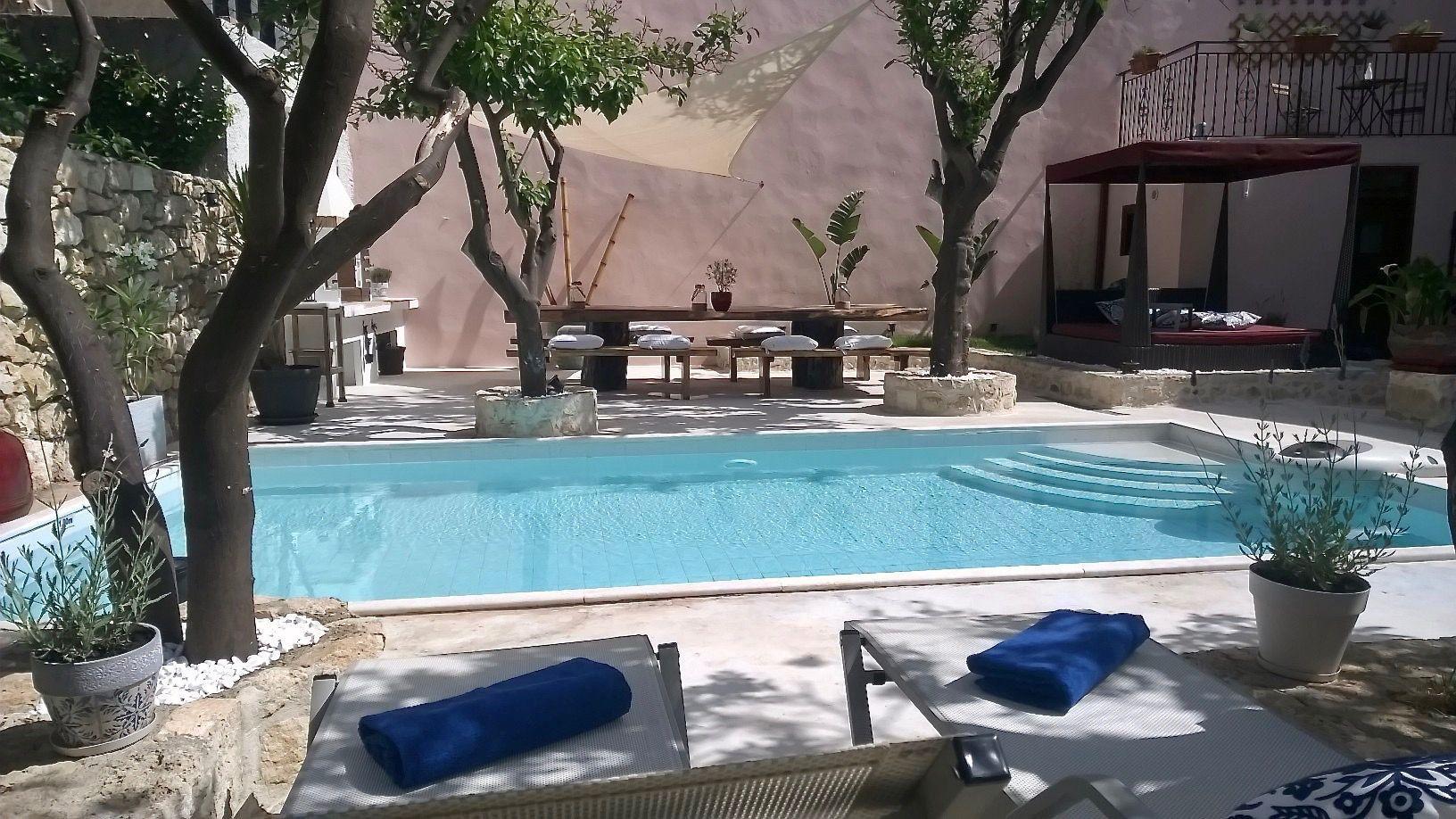 Ferienhaus mit Privatpool für 9 Personen  + 1   Kreta Nord
