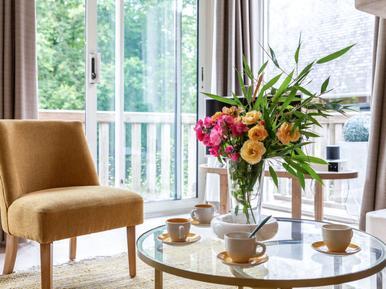 Für 5 Personen: Hübsches Apartment / Ferienwohnung in der Region Deauville