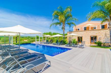 Gemütliches Ferienhaus : Region Mallorca für 14 Personen