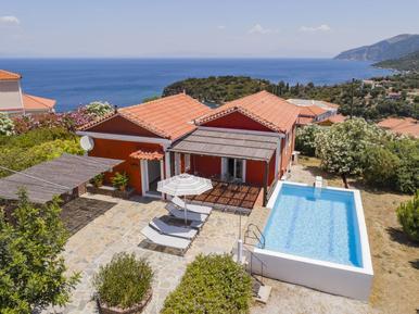 Ferienhaus mit Seeblick / Meerblick