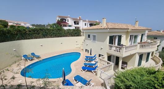 Gemütliches Ferienhaus : Region Menorca für 8 Personen