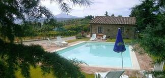 Holiday home 1604329 for 4 adults + 2 children in Castiglione d'Orcia