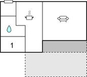 Ferienhaus 1623041 für 4 Erwachsene + 1 Kind in Undenäs