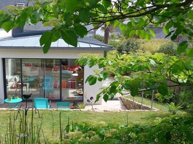 Gemütliches Ferienhaus : Region Trégastel für 5 Personen