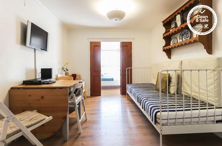 Für 7 Personen: Hübsches Apartment / Ferienwohnung in der Region Costa de Lisboa