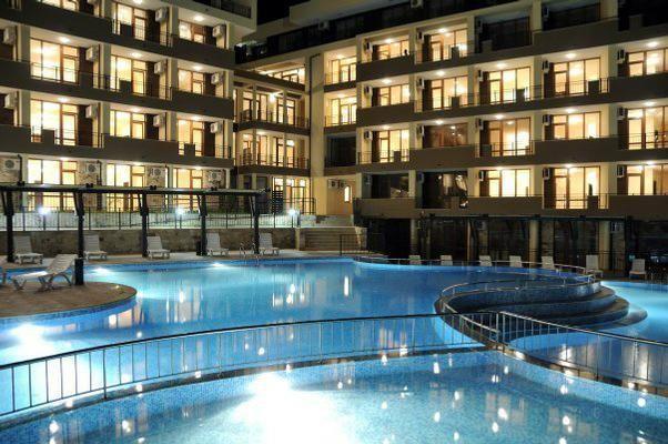 Luxor Ferienwohnung C2 3 Sveti Vlas 1 Schlafzimmer 4 Personen