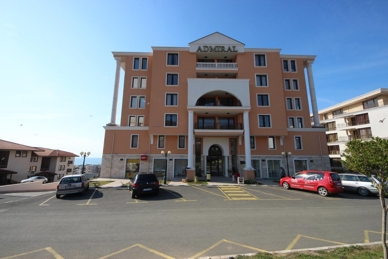 Hotel Admiral Apartment mit 1 Schlafzimmer für 4 Personen