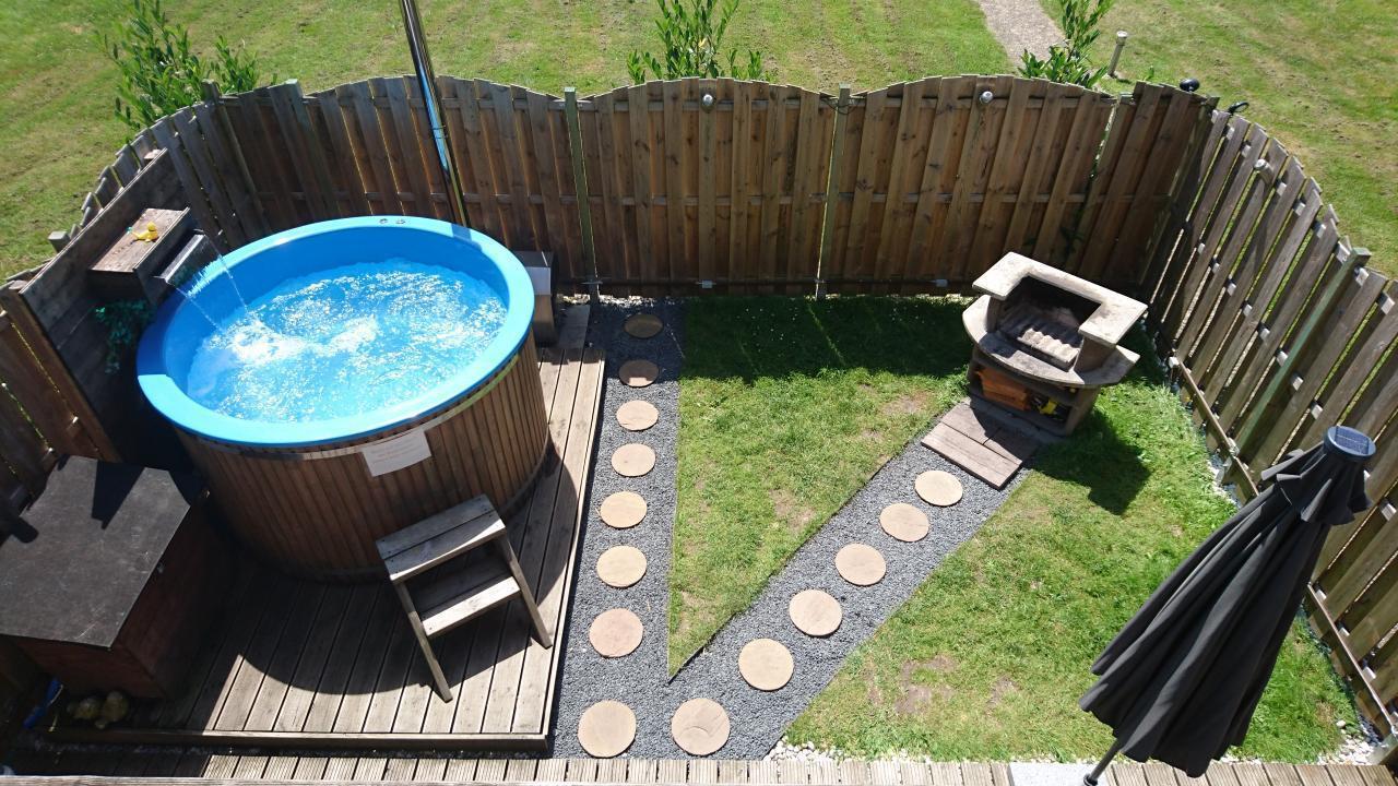 Ferienwohnung - eigener Pool - bis zu 5 Personen -  in Deutschland