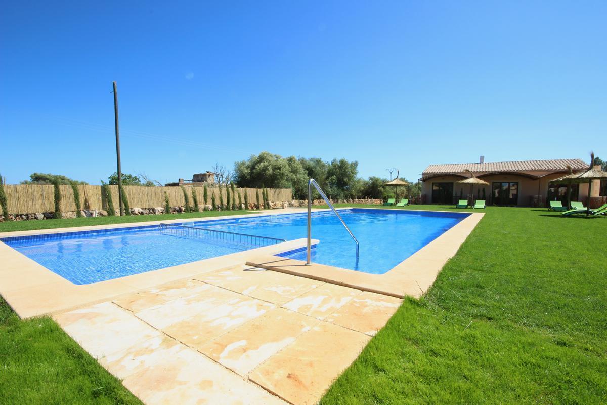 Apartament mit Pool - Es Trenc - Finca Can Angel - Ferienpark  Balearen