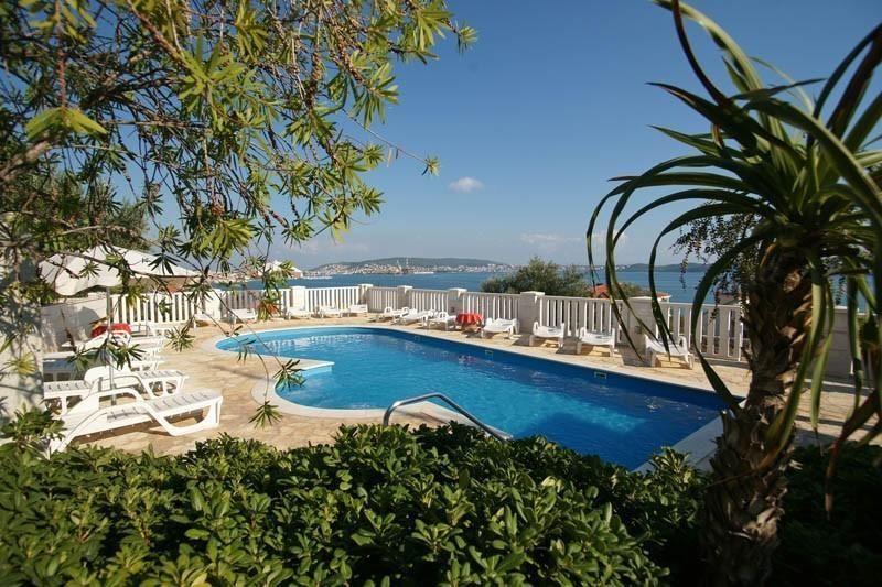 Strand Villa mit dem Pool
