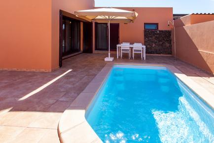 Gemütliches Ferienhaus : Region La Oliva für 4 Personen