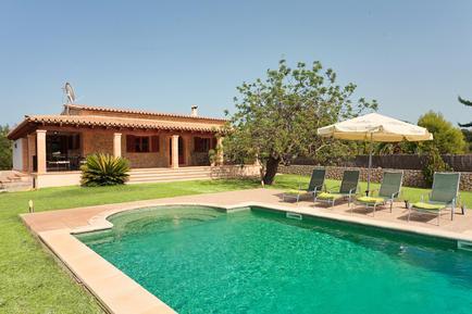 Gemütliches Ferienhaus : Region Mallorca für 4 Personen