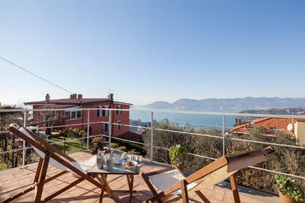 Gemütliches Ferienhaus : Region Ligurien für 3 Personen