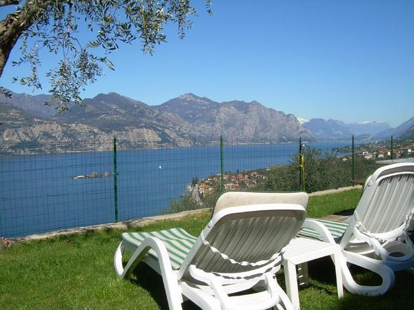 Casa Margherita Wohnung n. 4, mit Garten und super   Brenzone