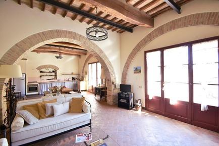 Für 7 Personen: Hübsches Apartment / Ferienwohnung in der Region Siena