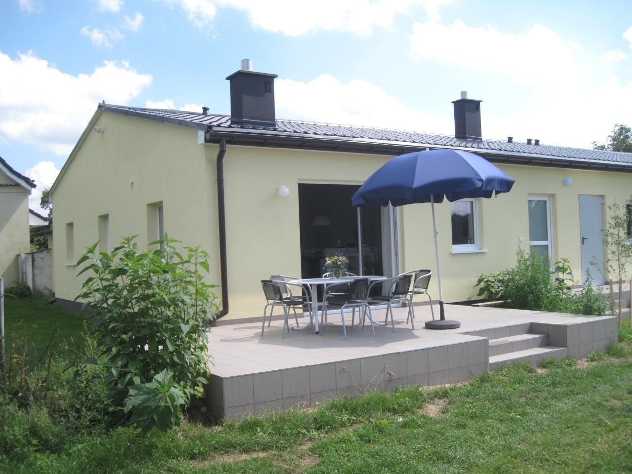 Haus Kastan 1 in der Nähe der Ostsee und des Oderhaffs