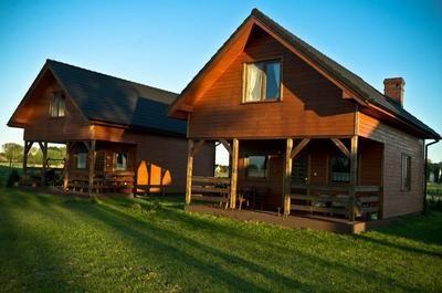 Edgle Lodge Häuser am Meer Swinemunde Ferienpark in Polen