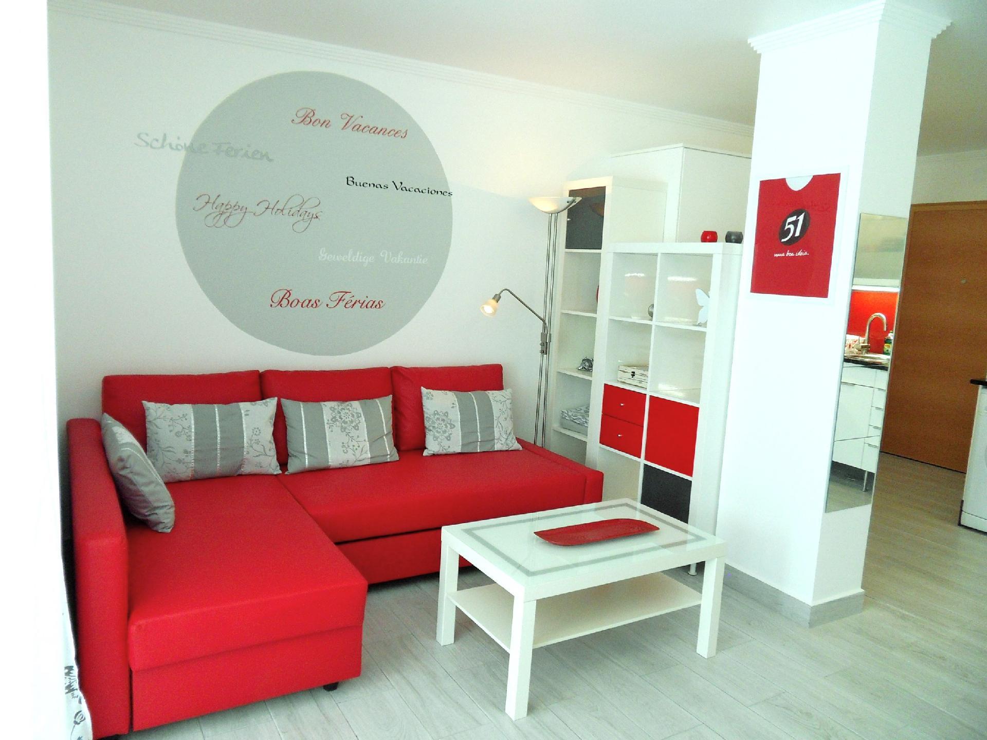 Apartment Papillon in Monte Gordo, strandnah, f&uu  in Portugal