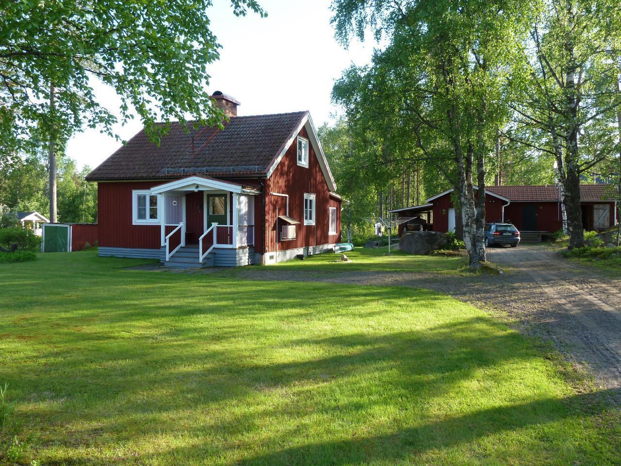 Schönes Ferienhaus in Uvanå Värmland Schweden Erholung Angeln Jagen Wandern