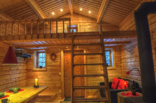 Cottage in Lappland am Wildfluss