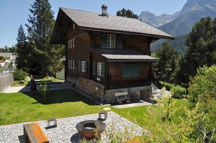 Gemütliches Ferienhaus : Region Graubünden für 5 Personen