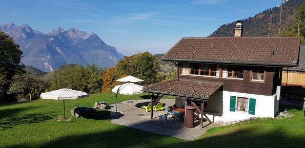 Gemütliches Ferienhaus : Region Genfersee für 4 Personen