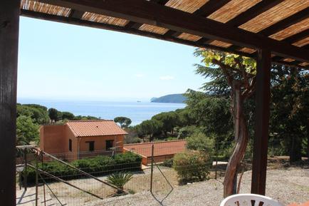 Gemütliches Ferienhaus : Region Elba für 2 Personen