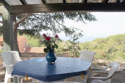 Gemütliches Ferienhaus : Region Elba für 4 Personen
