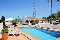 Holiday home 1706009 for 6 adults + 2 children in Benissa