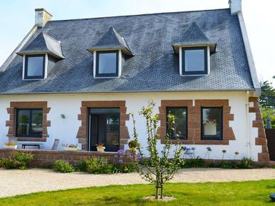 Gemütliches Ferienhaus : Region Trégastel für 8 Personen