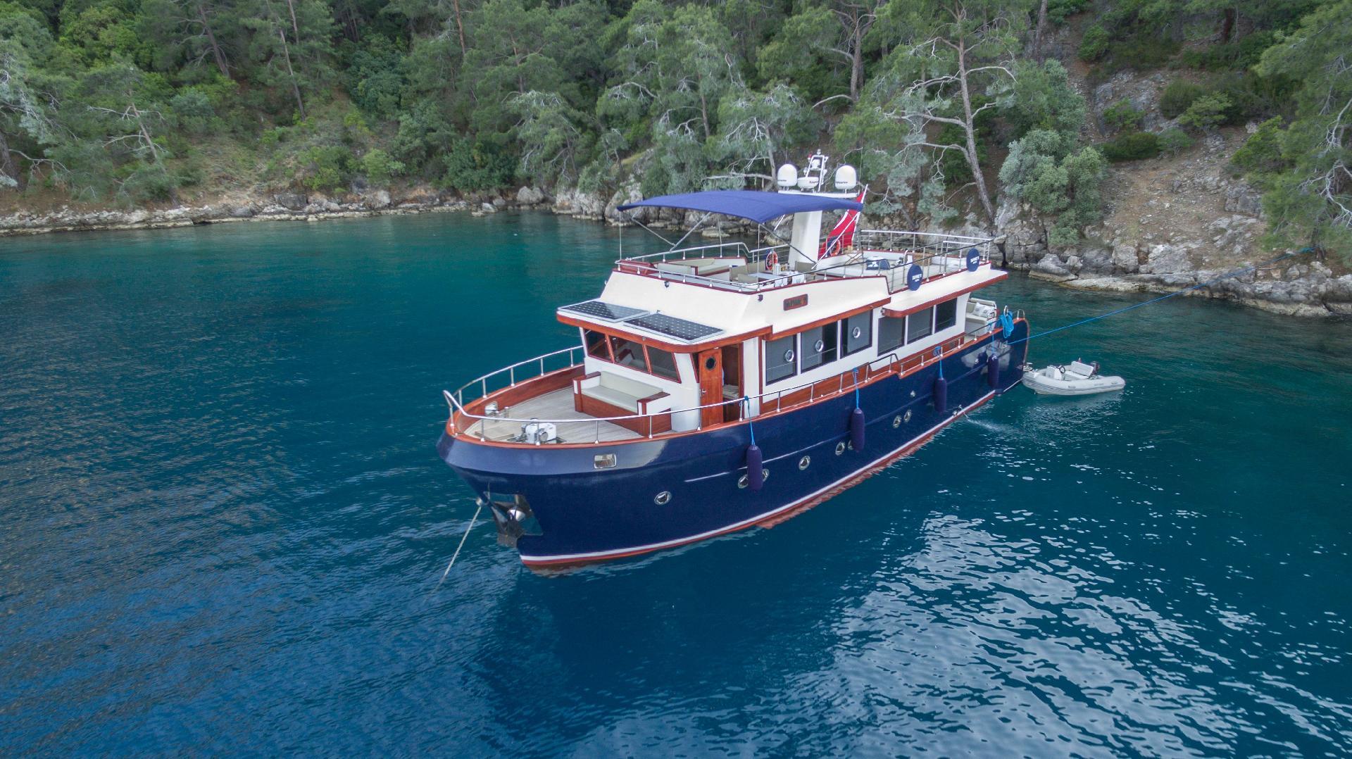 Hausboot/ Schiff für 9 Personen in Fethiye, A Boot