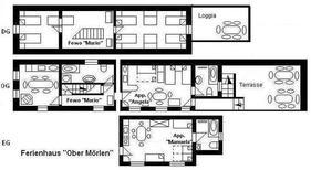 Appartement 1760266 voor 19 personen