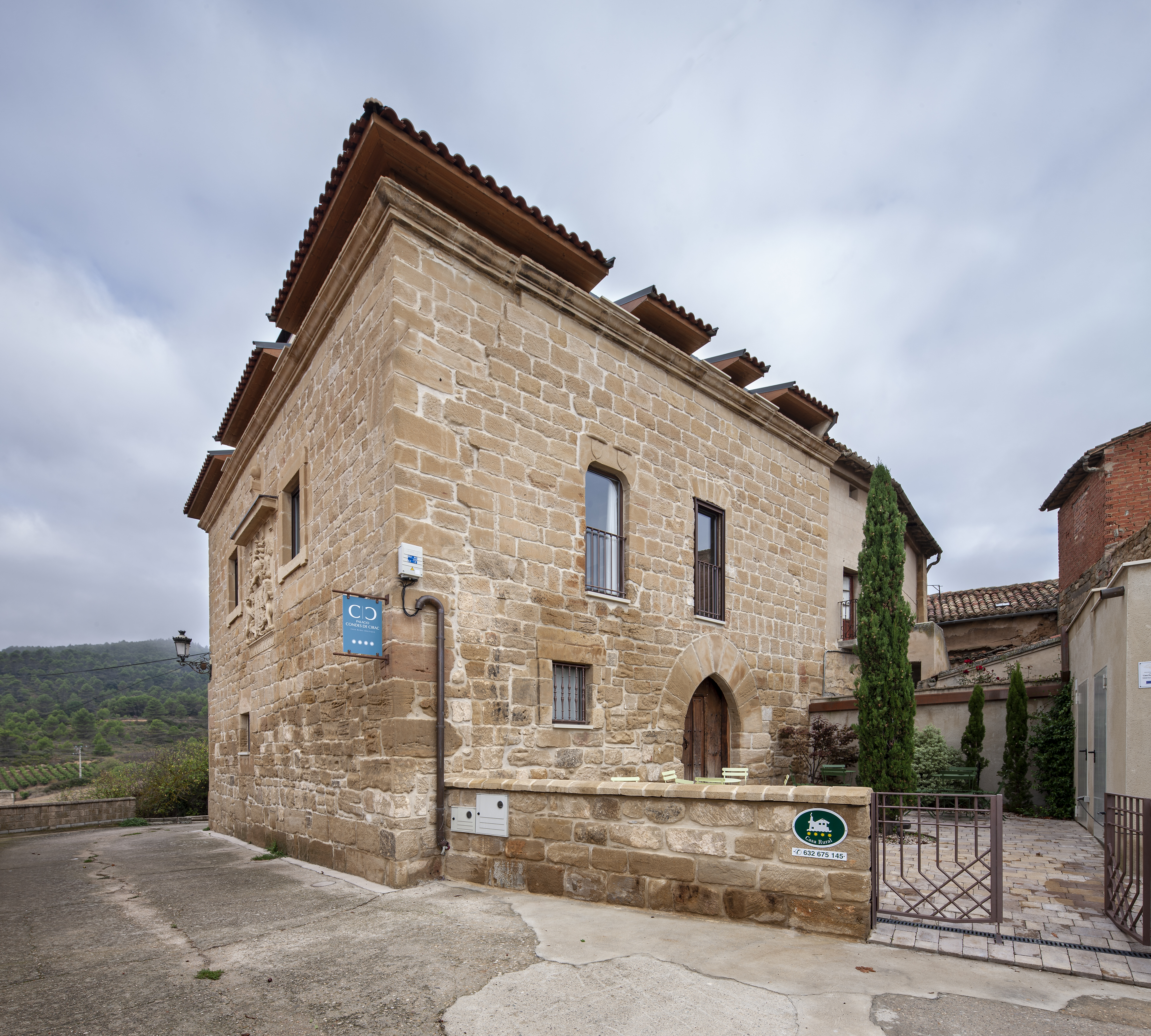 Ferienhaus Palacio Condes de Cirac für 16 Per Besondere Immobilie in Spanien